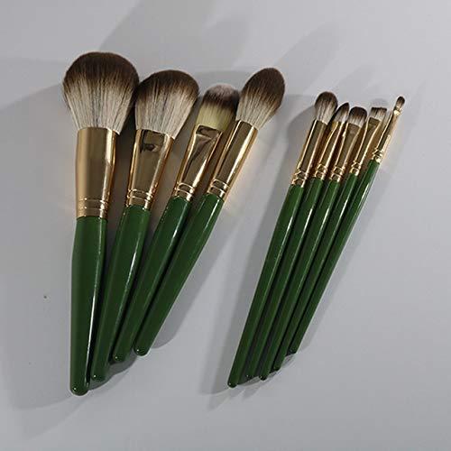 PoplarSun Brosses de Femmes en Bois Fondation cosmétiques Sourcils Pinceau Fard à paupières Maquillage Sets Brosse (Handle Color : Bag Makeup Brush)