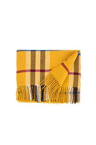 LANEROSSI Decke Fiesole, leicht und Primaverile, Baumwollmischung, 130 x 170 cm, Ocker