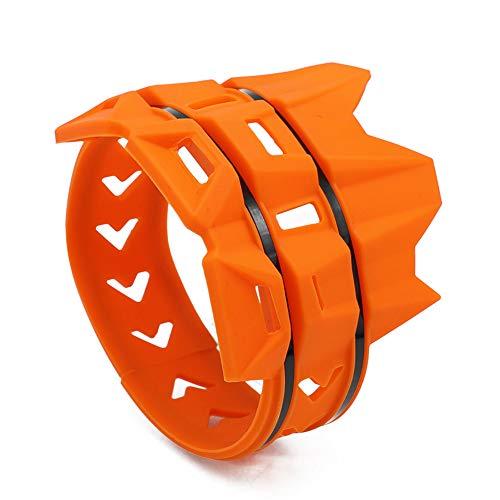 Alftek Silencer Protector Guard - Tubo de escape universal para motocicleta, resistente al calor