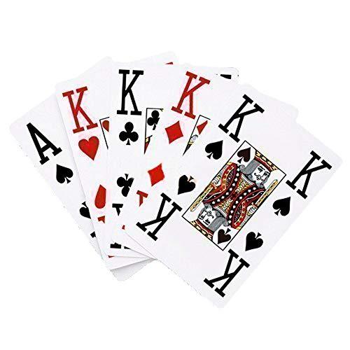 Baraja de cartas, Naipe, Baraja francesa, 56 cartas, Tamaño mayor, Mobiclinic
