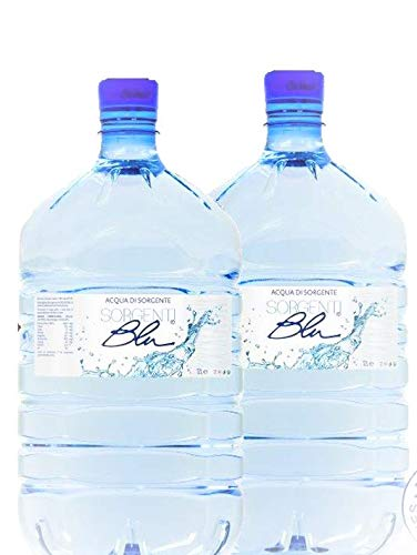 Wassergallone 2 x 12 Liter Sorgenti Blu Bergquellwasser für alle Wasserspender - Pfandfrei !!!