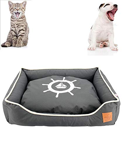Huisdier slaapbank, een grote, kleine hond, leuke kat, verdikte For All Seasons, Comfortabel en waterdicht Winter Warm Bed, Portable Pet Bed,XS