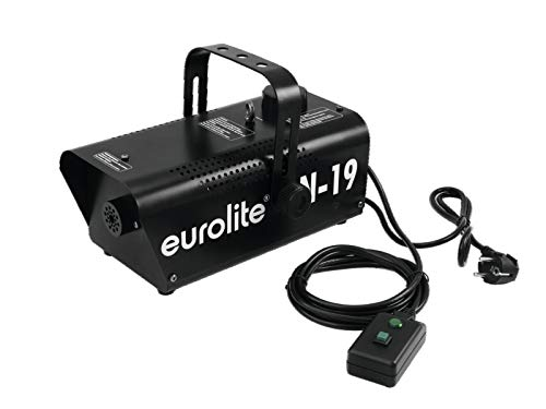 EUROLITE N-19 Nebelmaschine schwarz | Kompakte 700-Watt-Nebelmaschine