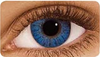 عدسات فريش لوك اللاصقة التجميلية - ازرق لامع