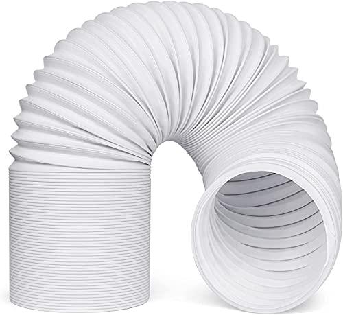 Manguera de aire acondicionado portátil, manguera universal flexible Manguera de escape Piezas de repuesto de tubo de aire portátil compatibles con muchos aires acondicionados portátiles (13cm x 2M)