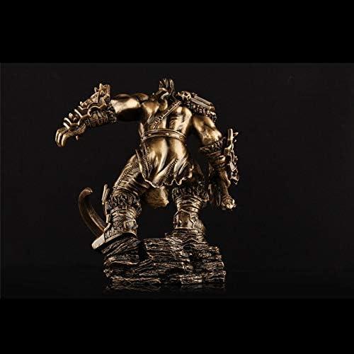 KLEDDP Spielzeugmodell Filmfigur World of Warcraft Ornamente Souvenir SammlerStücke Kunsthandwerk Geschenke H e brüllen 25x20x20cm Spielzeugstatue