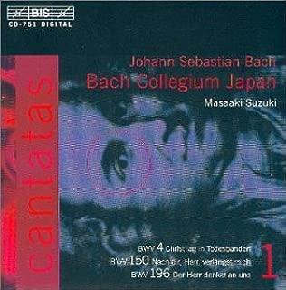 Bach: Cantatas, Vol 1 BWV 4, 150, 196 Bach Collegium Japan * Suzuki