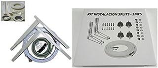 Kit Instalación Montaje Split hasta 3000Fr Tubos Cobre 1/4-3/8 3MT + Soporte Pared + 4 silemblock