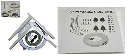 Kit Instalación Montaje Split hasta 3000Fr Tubos Cobre 1/4-3/8 3MT