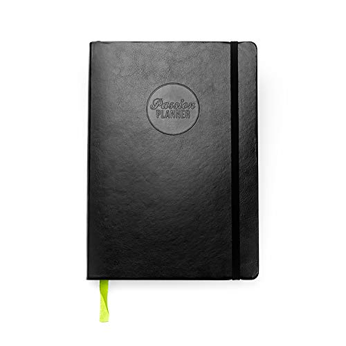 Academic Passion Planner Small Aug 20-Jul 21 (A5-5.8 x 8.3 in) Monday Start Elite Black