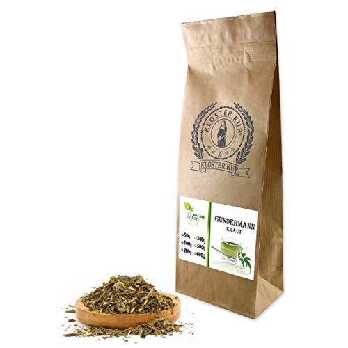 VITAIDEAL VEGAN® Gundermannkraut geschnitten (Glechoma hederacea) 300g, rein natürlich ohne Zusatzstoffe.