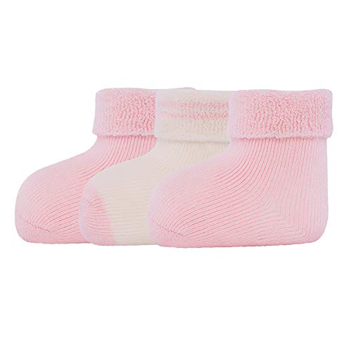 Ewers Newborn Babysocken für Jungen & Mädchen 3er Pack, MADE IN EUROPE, Baumwolle Baby Socken Erstling