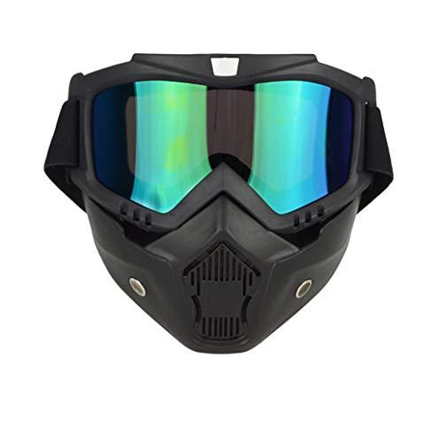 Outdoor sport houlian winkel Goggles Masker Retro Riding Goggles Off-road Motorbril Winddicht Warm Helm Goggles Zonnebril
