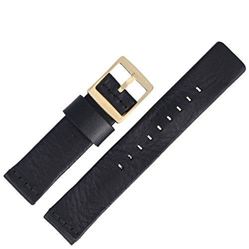 Liebeskind Uhrenarmband 20 mm Leder Schwarz - Uhrband B_LT-0021-LQ
