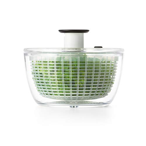 powerful OXO Good Grips Small Salad and Herbal Moths, Transparent, Small