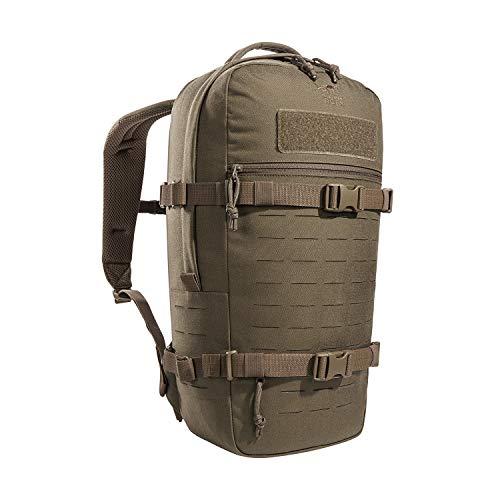 Tasmanian Tiger TT Modular Daypack L Molle-kompatibler, Ergonomischer Tages-Rucksack mit Kompressionsriemen, Trinksystem-Vorbereitung, 18 Liter (Coyote Brown)