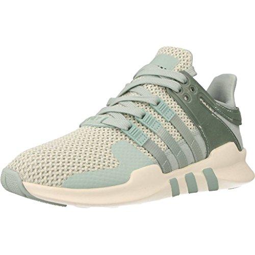 adidas Originals EQT Equipment Support ADV Running Schuhe Laufschuhe GRAU GRÜN, Schuhgröße:38 EU, Farbe:Grün