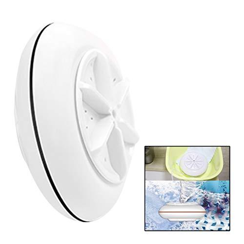 AMhomely 2021 Mini Lave-vaisselle machine à laver portable à ultrasons pour la stérilisation de turbine pour enlever la saleté câble USB pour les voyages à domicile,voyage d'affaires (Noir)