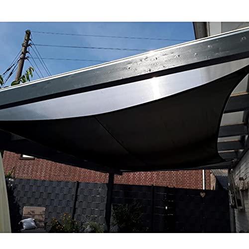 Shade Sail Garden Impermeable Poliéster Square Terraza Tarj