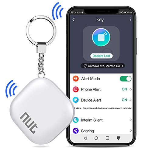 Tile Key Finder Locator Smart Tracker White Nut 2 Bluetooth Item Anti-Lost Phone Finder with App Item Car Key GPS Alarm Tracer Reminder Chip for Bag Phone Pets Dog Keychain Wallet Purse Luggage