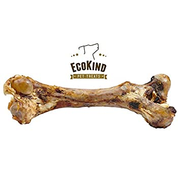 EcoKind Dog Bone Giant Femur Bone for Dogs | 1 Bone | Long Lasting Mammoth Dog Bones for Aggressive Chewers Rawhide Free Healthy Dog Treat Large Bones Digestible Dog Chews & USDA/Certified