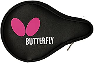 Butterfly Logo Full Ping Pong Paddle Case - Fits 1 Ping Pong Paddle - Full Protection for Your Table Tennis Racket