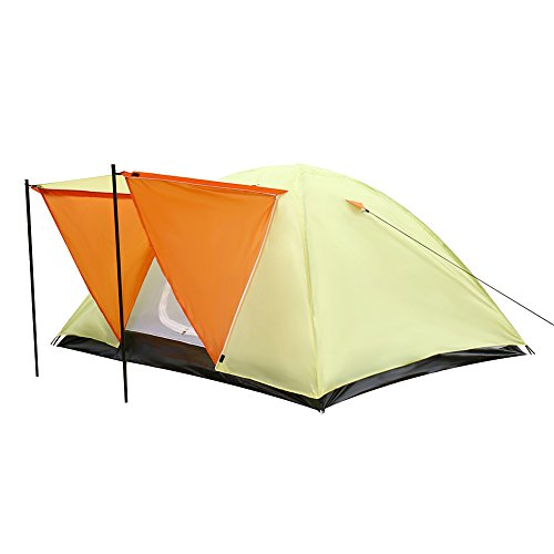Le Papillon 4 Person Camping Tent Backpacking Tent with Carrying Bag