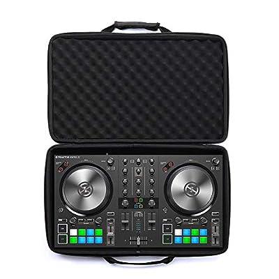 Rainnao EVA Hard Travel Case Black, Carrying Case, Controller Package Case for Pioneer DJ DDJ-SB3 / DDJ-SB2 DJ/DDJ-400 Portable 2-channel Controller