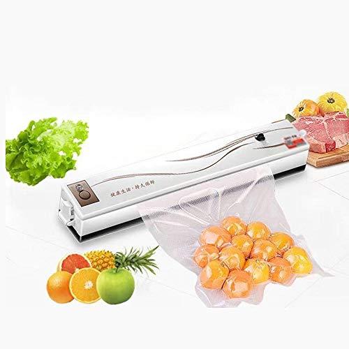 LNLW Draagbare Vacuum Sealer Machine, Eten Vacuum Sealer Folie Roll, for Food Saver-opslag, Automatische Voedsel Seals Heavy Duty Vacuümverpakkingsmachine Portable hitteverzegelaar