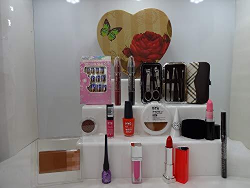 De Luxe Ensemble cadeau pour elle, Mix marques, ongles manucure, outil de maquillage en forme de cœur Boîte cadeau * * Édition limitée * * Offre spéciale. 063.