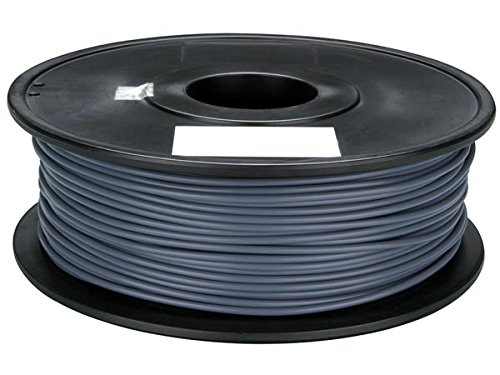 Velleman PLA175H1 PLA Filament for 3D Printers, 1 Grade to 12 Grade, 14172' Length, 1/16' Diameter, Grey