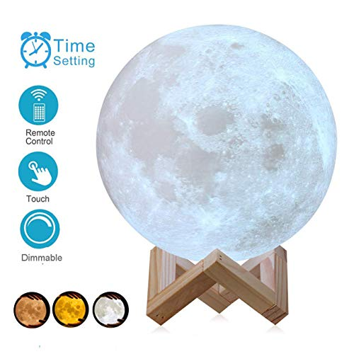AED 3D Printing Moon Lamp Review