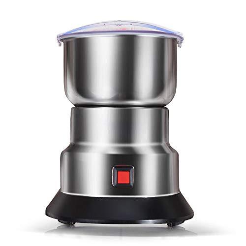 Grano Grinder Hogar Molino De Grano Especias Y Molinillo De Café 60 Segundos Producción De Polvo Fino Molinillo De Acero Inoxidable 150 G