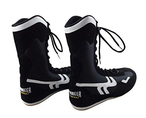 Sport Pioneer Herren high top boxen schuhe boxer stiefel 3 uk schwarz