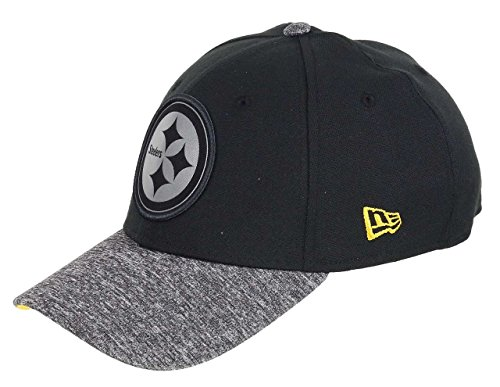 New Era Pittsburgh Steelers 39thirty Cap NFL Grey Collection Black/Grey - S-M