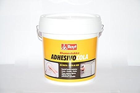 RAYT-C-1278-A UKO - 278-24 Adhesivo sin disolvente listo al uso en bote. Pegado cerámica, placas acústicas - 6 kg