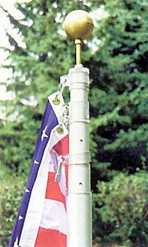 Uncommon The Original Telescoping Flagpole, 20ft...