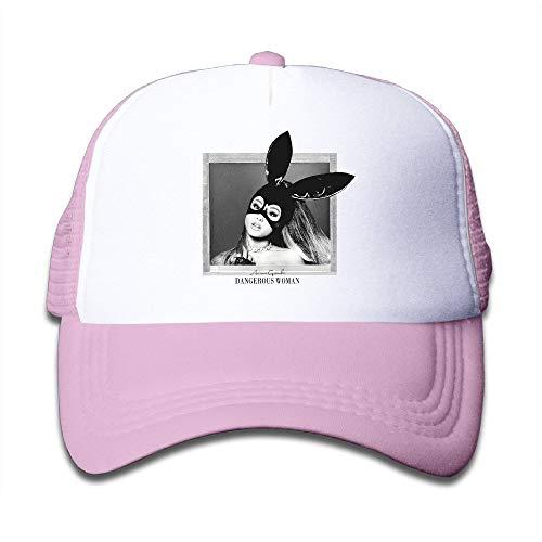SHUIFENG66 Ariana Grande Dangerous Woman Toddler Sunscreen Trucker Caps Baseball Great for Kids,Hüte, Mützen & Caps