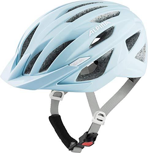 Alpina Unisex– Erwachsene Parana Fahrradhelm, Pastel Blue matt, 51-56 cm