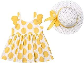 فستان للفتيات مع قبعة