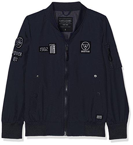 Cars Jeans Jungen Kids Smash Jacke, Blau (Navy 12), 140 (Herstellergröße: 10)