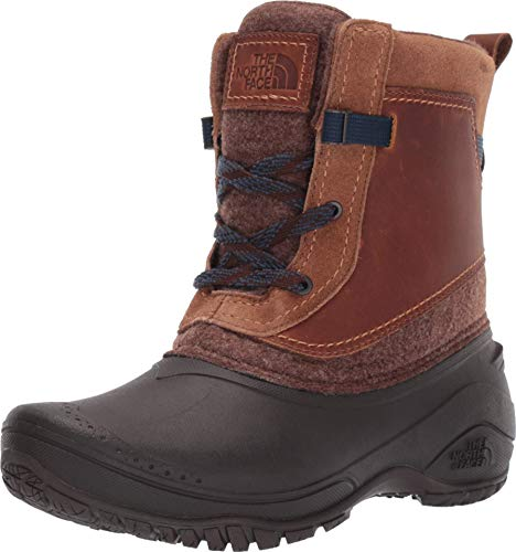 The North Face Shellista III Shorty Demitasse Brown/Carafe Brown 8 B (M)