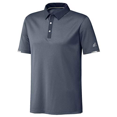 polo uomo 3 bottoni Adidas Golf 2020 Heat RDY - Polo traspirante con 3 bottoni