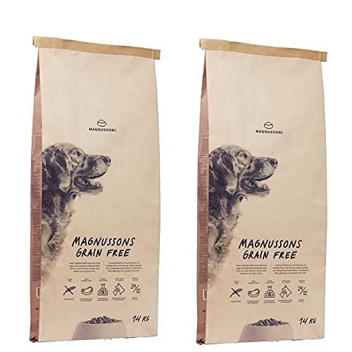 Magnusson Grain Free Trockenfutter für Hunde 2 x 14kg - Getreidefrei