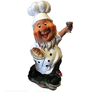 Tradesmen Gnomes British Baking Novelty Garden Gnome