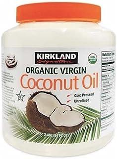 KIRKLAND(カークランド) カークランド オーガニック ココナッツオイル 84oz/ 2.48L 【並行輸入品 [並行輸入品]