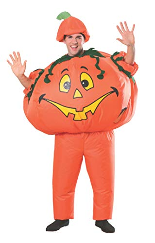 Rubie's Costume Co Adult Inflatable Pumpkin Costume (One-Size)