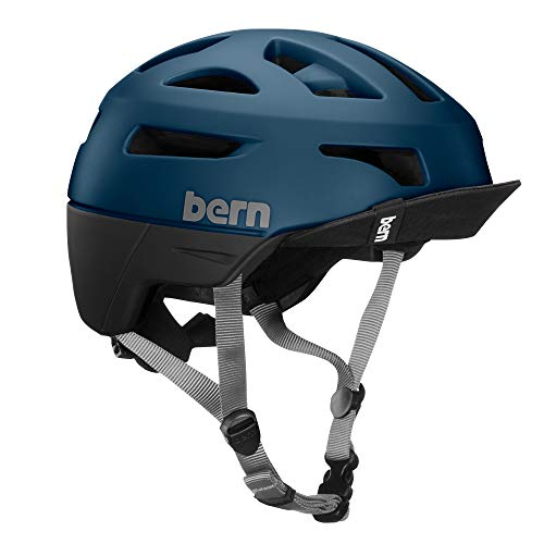 Bern Unisex's Union With Flip Visor Cycling Helmet, Mutted Teal, Small