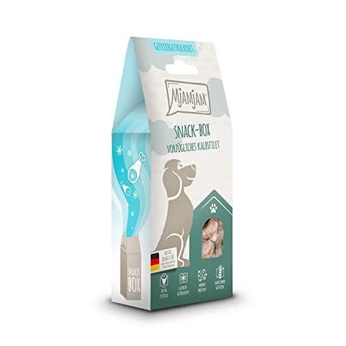 MjAMjAM - Premium Snackbox für Hunde - vorzügliches Kalbsfilet, 1er Pack (1 x 70 g)