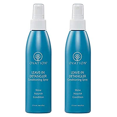 Ovation Detangler - Helps protect, nourish and condition hair. Safe for Color Treated Hair. Made in the USA